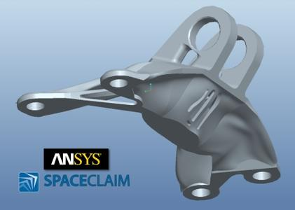 ANSYS SpaceClaim 2019 R1 x64 破解版下载 crack
