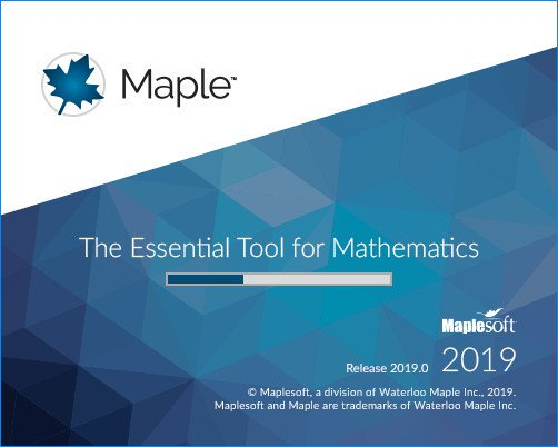 Maplesoft Maple 2019.0 x64 破解版下载 crack