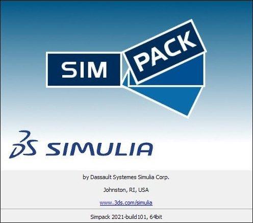 Dassault Systemes SIMULIA Simpack 2021.0 x64 破解版下载 crack